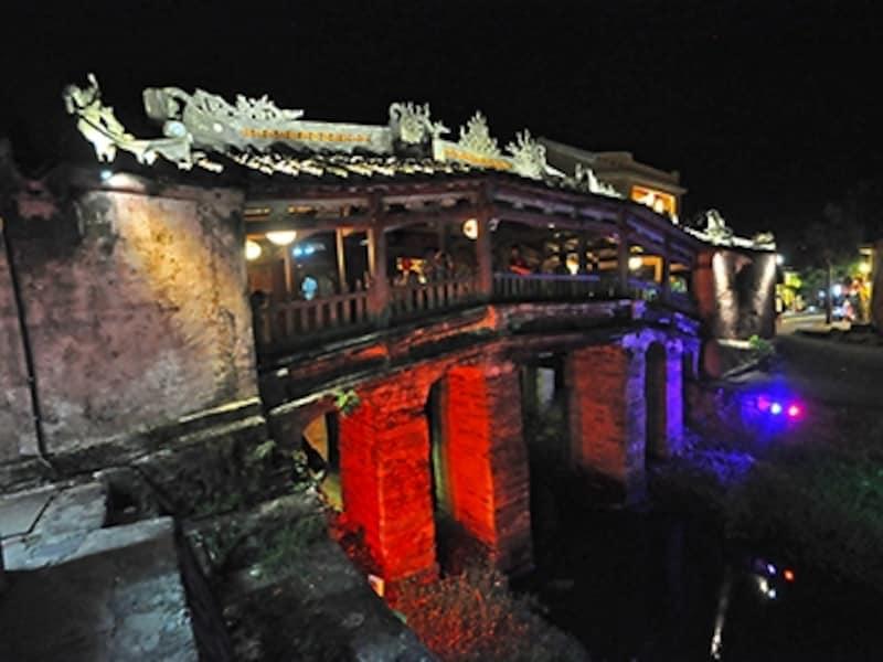 遠来橋(日本橋)の夜景