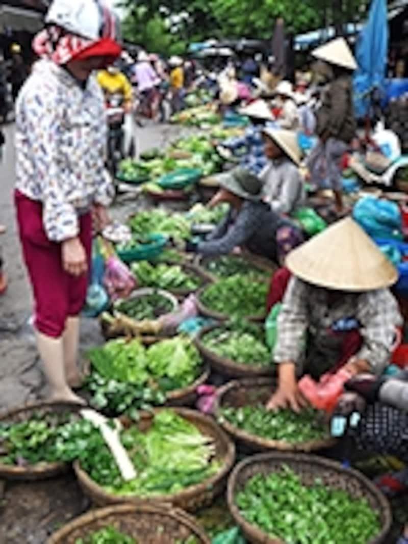 野菜の露店
