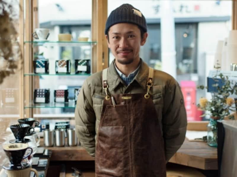 オーナーの坂尾篤史さん