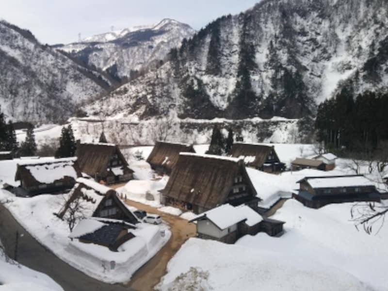 雪の五箇山・菅沼合掌集落(1)