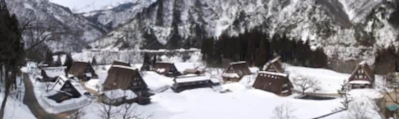 雪の五箇山・菅沼合掌集落(7)