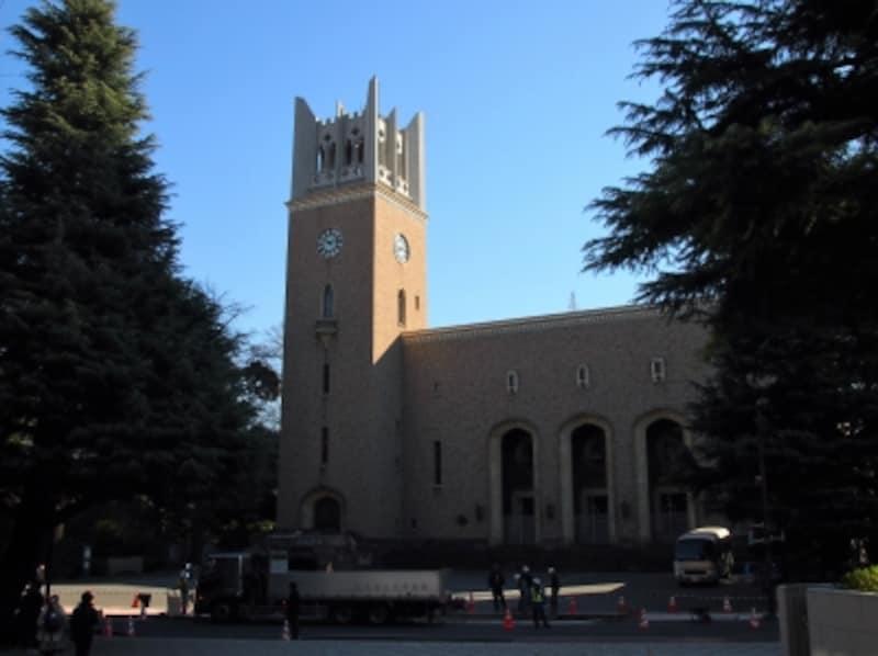 正式名称は「早稲田大学大隈記念講堂」だ