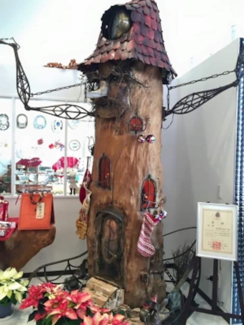 「ラ・パティスリー・ベルジュ」の店内モニュメント