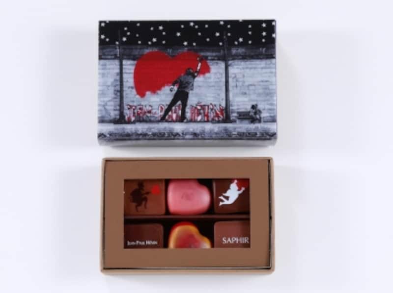 ジャン=ポール・エヴァンBoite6chocolatsStreet-Artボワットゥショコラストリートアート6個入り 2,841円(税込)