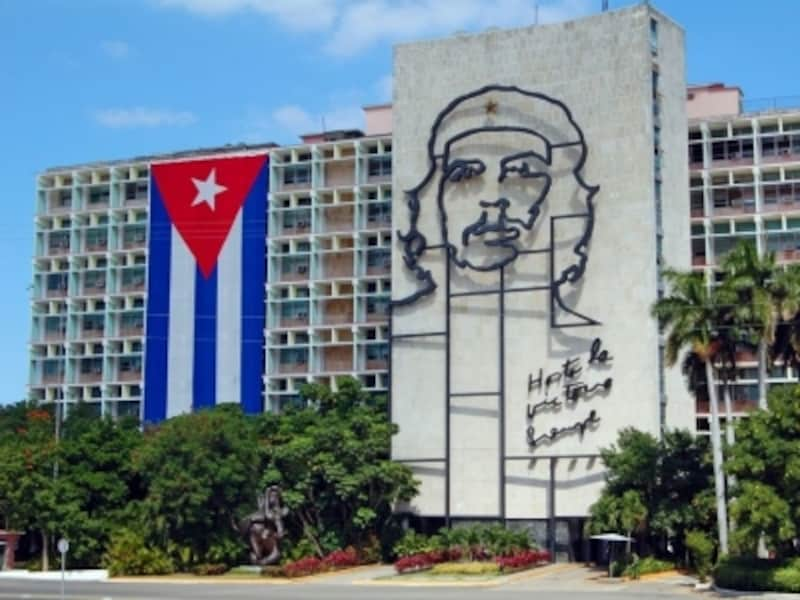 革命家チェ・ゲバラの肖像