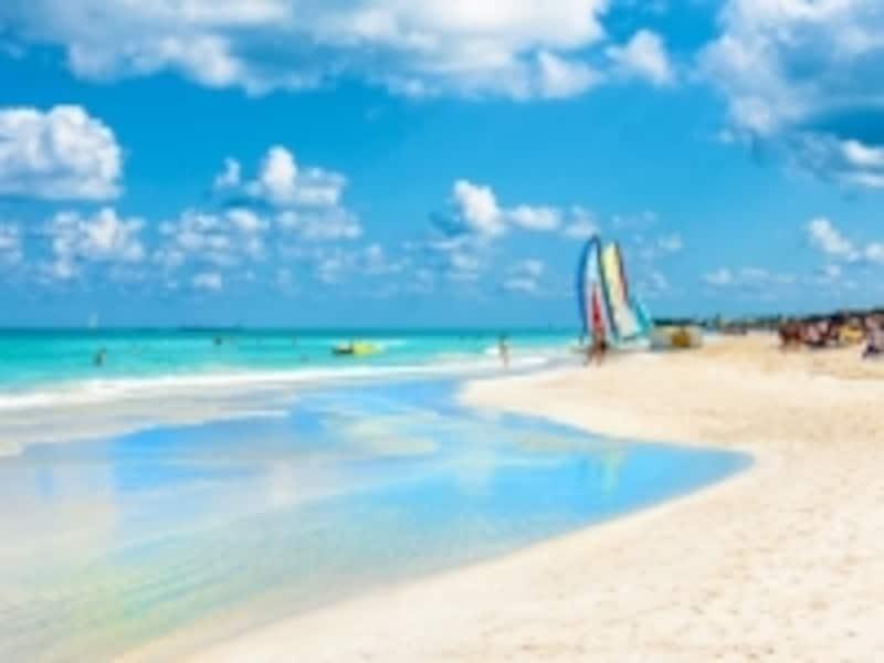 キューバのビーチ