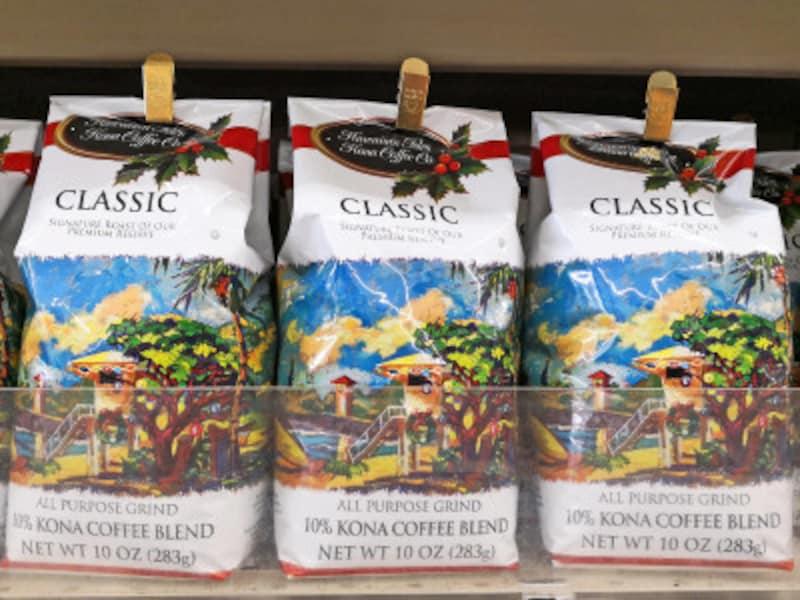 ハワイアン・アイルズのクリスマスパッケージコーヒー。可愛らしさで絶対買い!