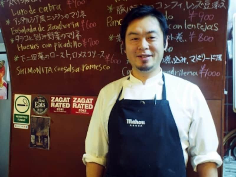 とっても気さくな店主、太田聡さん