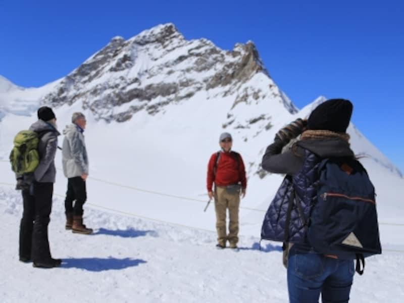 5月中旬、標高3500m展望台