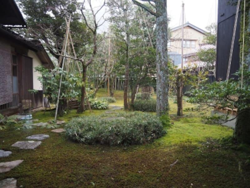 庭園@北大路魯山人の寓居いろは草庵
