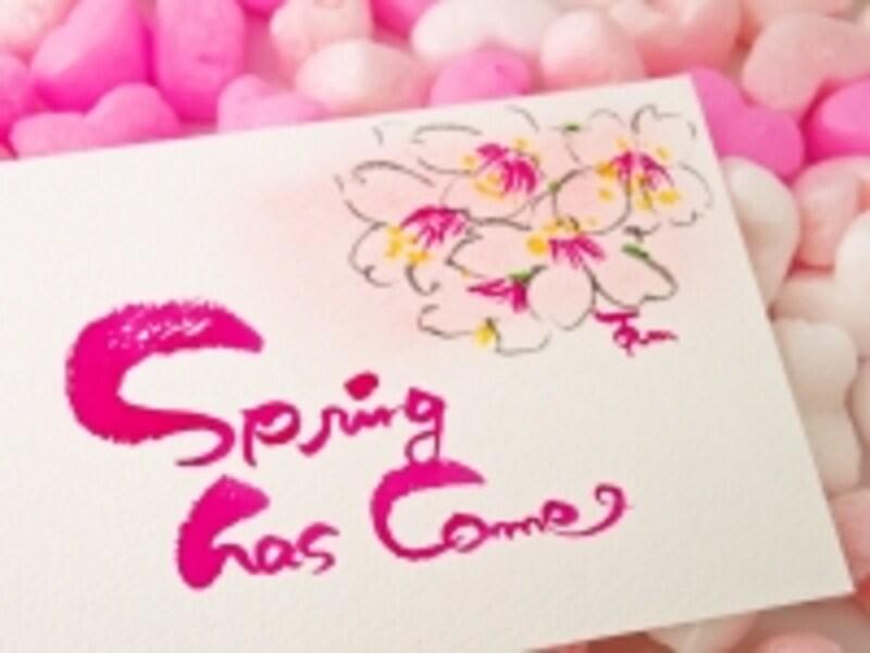 桜のカード