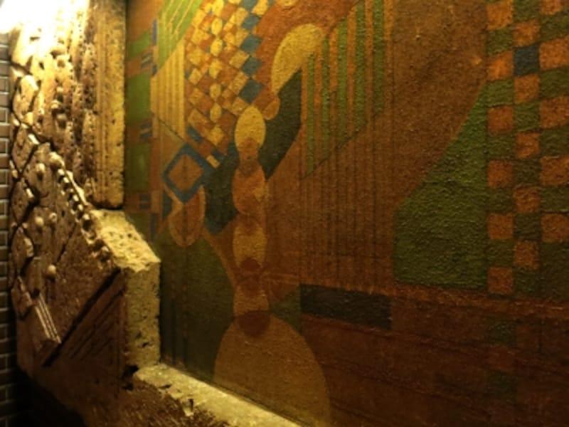 当時の壁画と壁面ディテール1の画像