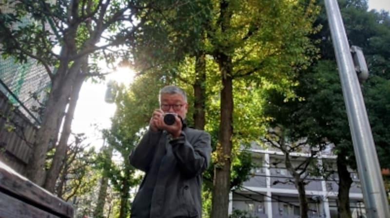 「散歩」ガイドの増田さんが、散歩の魅力を紹介