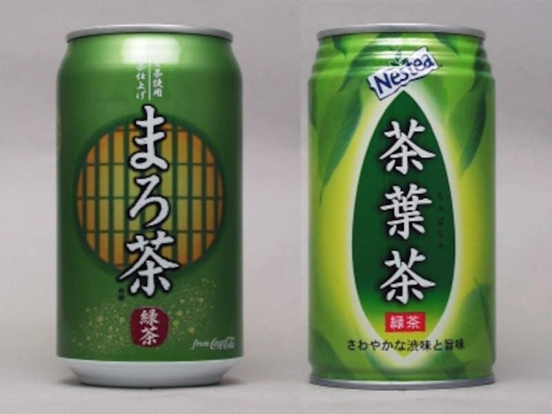 コカ・コーラまろ茶、ネスレ茶葉茶