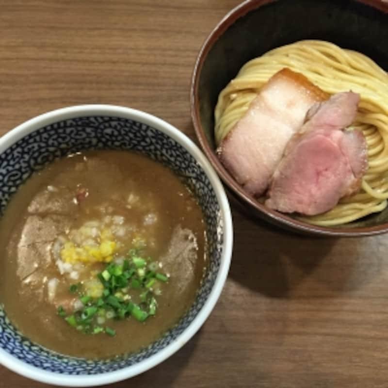 3位:煮干しつけ麺宮元(東京・蒲田)