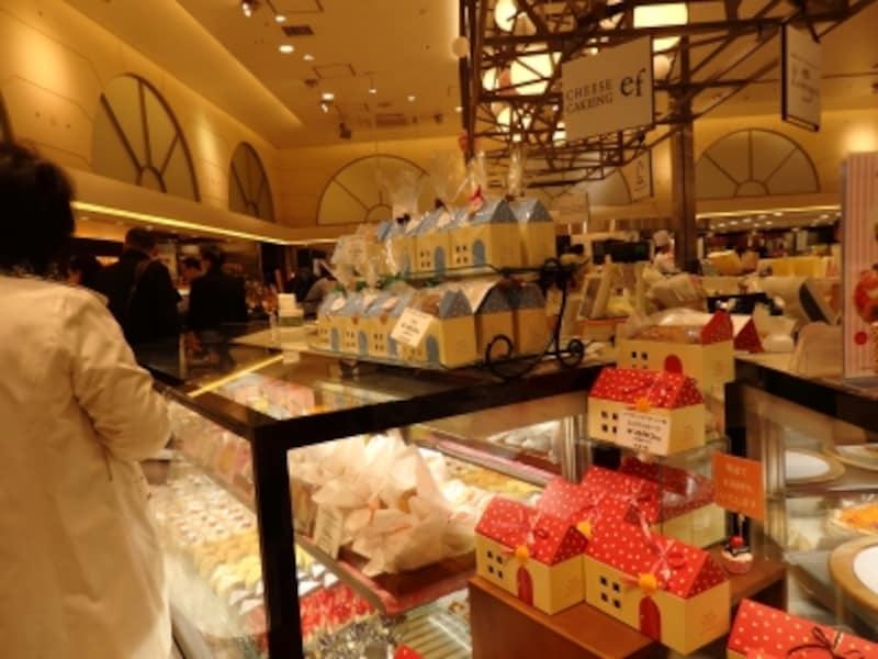 チーズケーキングエフのエキュート大宮内のショップ