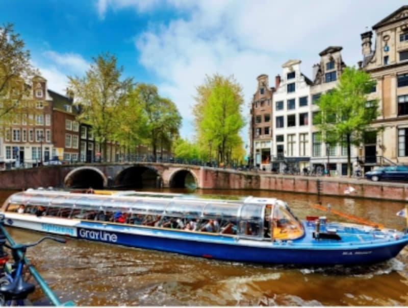 アムステルダムの遊覧クルーズ