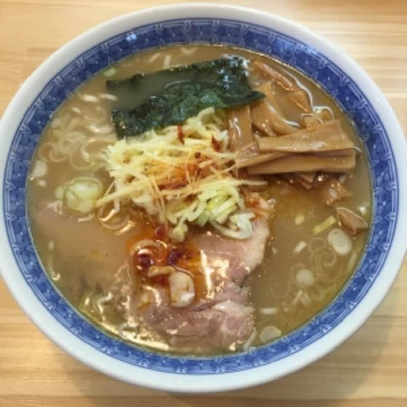 10位:自家製中華そばとしおか(東京・早稲田)