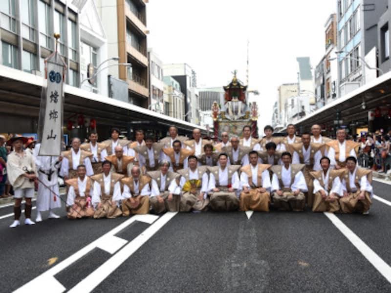 2016年に、筆者も「祗園祭」に参加。蟷螂山の皆さんを撮影