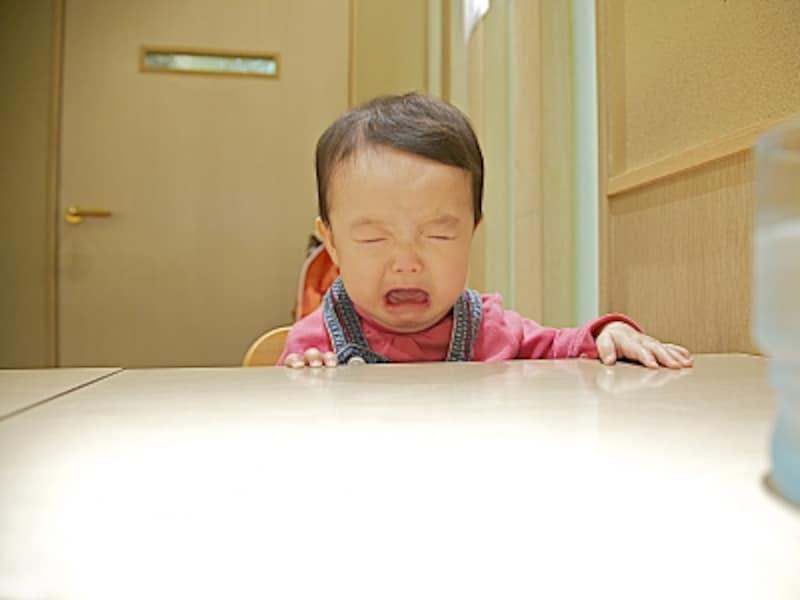こんな泣き顔もパパとママで受け取り方が違う傾向が…