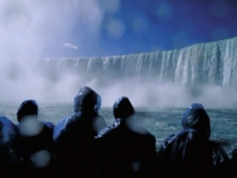 霧の乙女号の船上からの風景undefined写真提供:オンタリオ州観光局