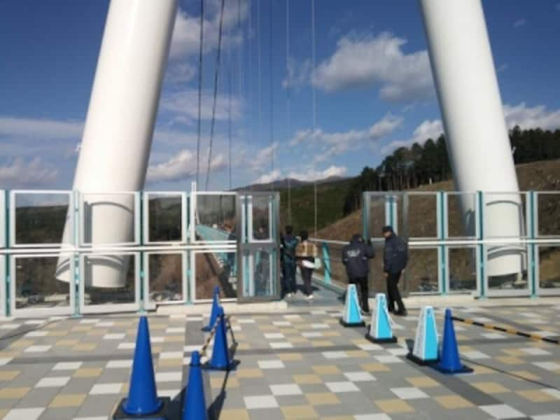 三島スカイウォーク(7)/吊り橋の入口