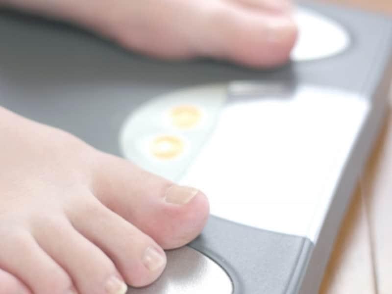 体重は増えていても浮腫みが大きい