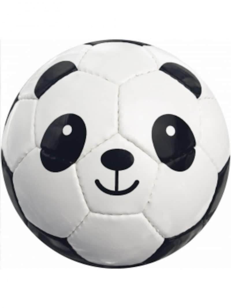 パンダモチーフの小さなサッカーボール