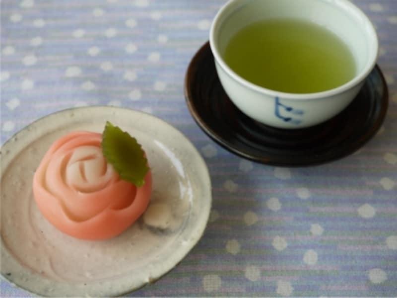 日本茶,お茶,お菓子