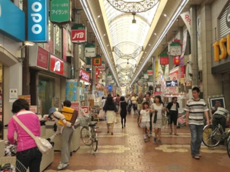新小岩の商店街