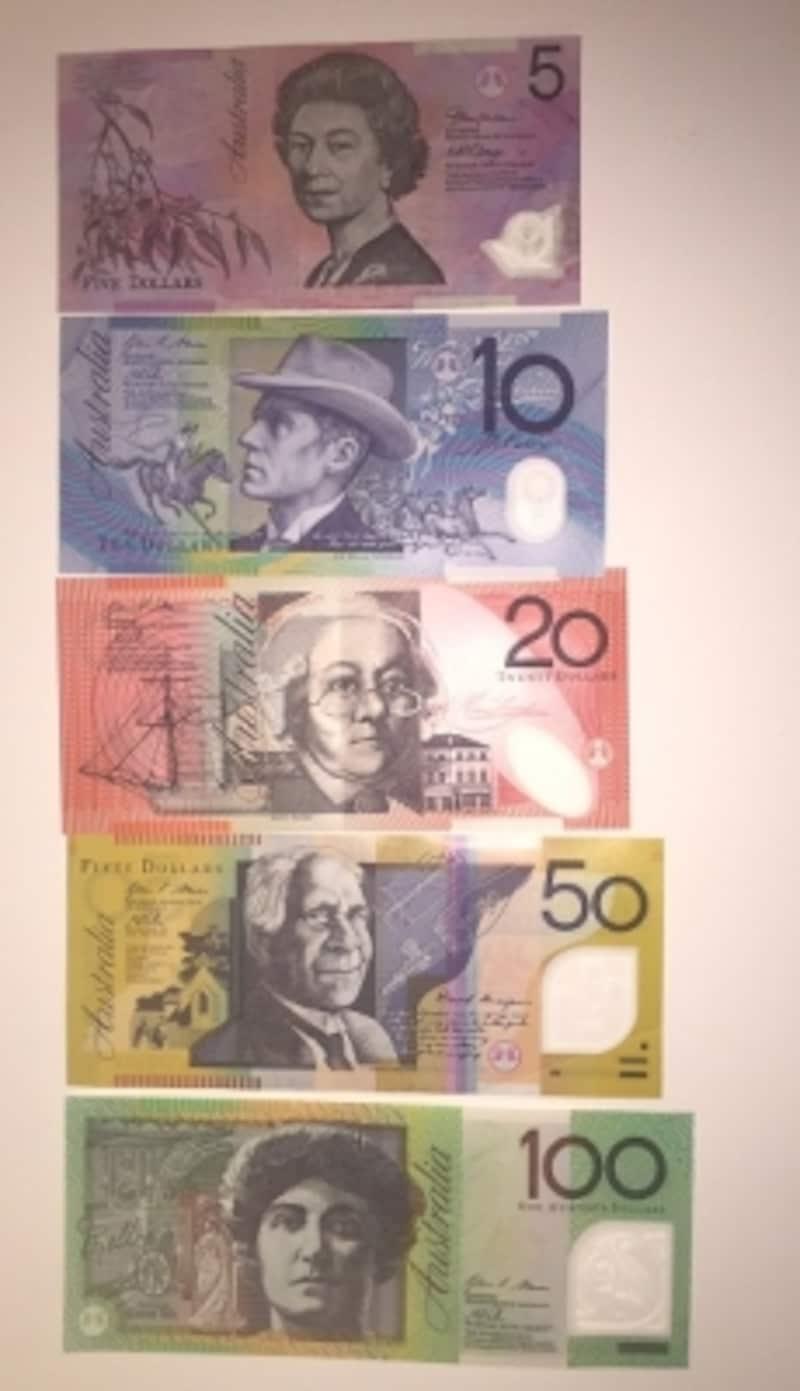 オーストラリアドル紙幣undefined表面
