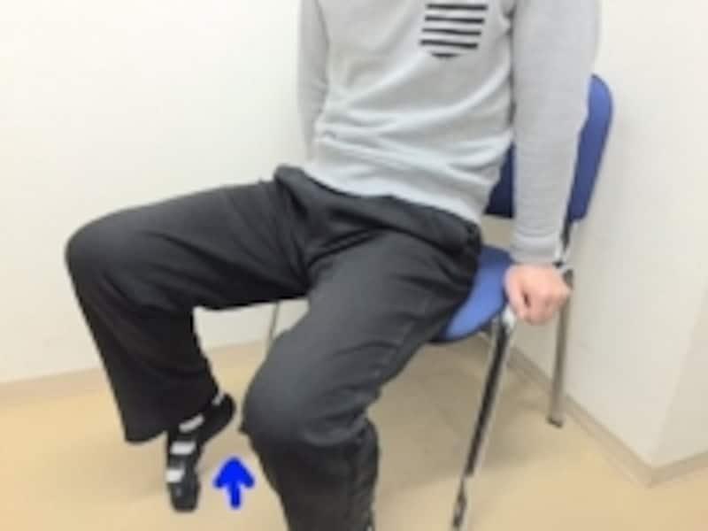 ふくらはぎを伸ばした感覚や足首の硬さに左右差を感じるかもしれせん