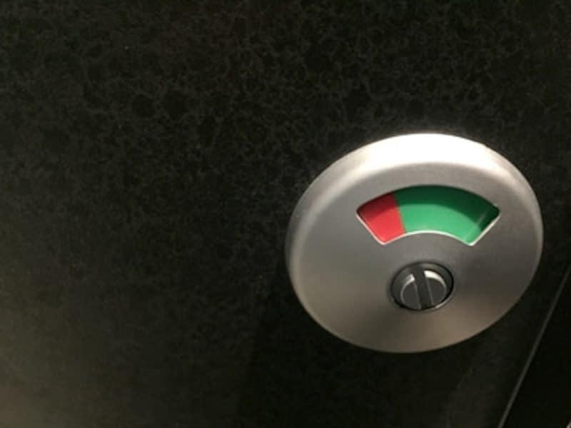 緑なら空き、赤なら使用中
