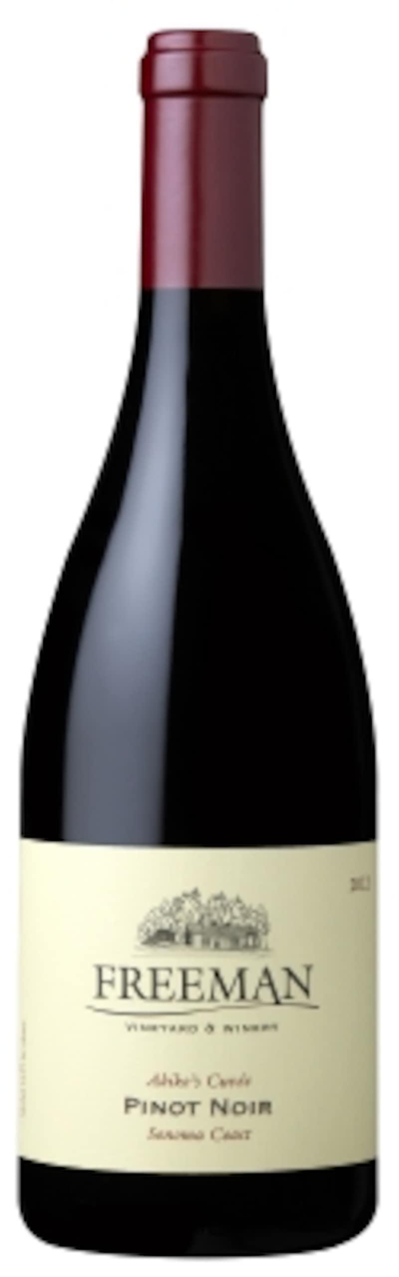 2013フリーマンアキコズ・キュヴェピノ・ノワールソノマ・コースト750ml11,700円(税別)