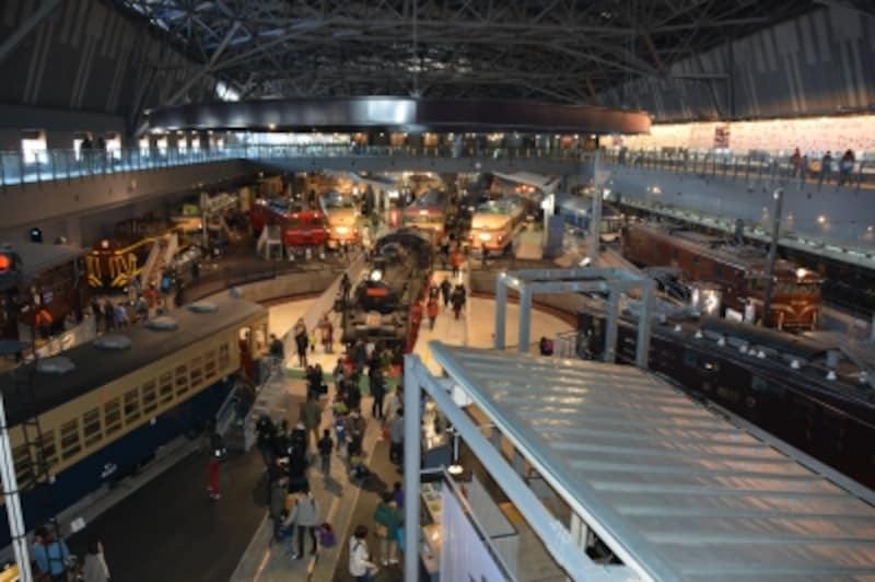 鉄道博物館のヒストリーゾーン