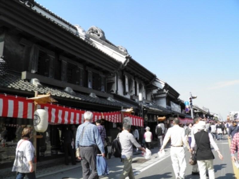「小江戸」川越に残る蔵の街並