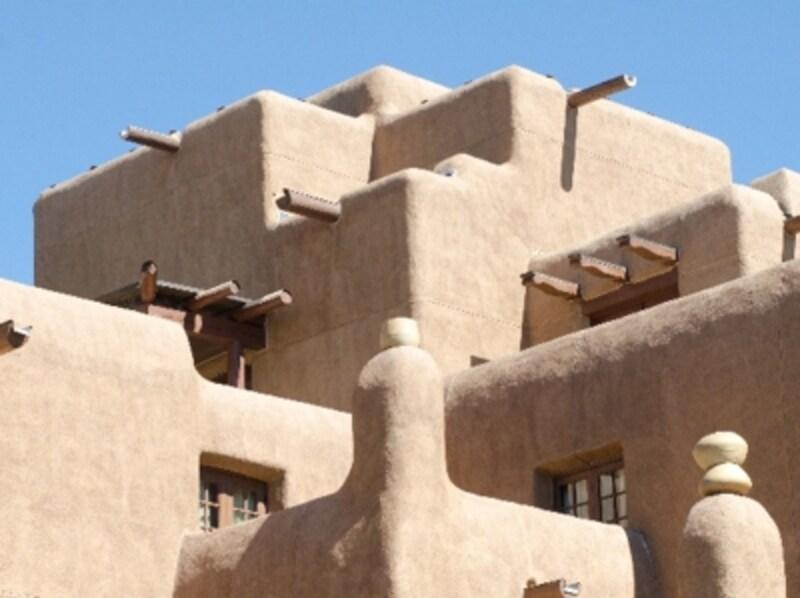 アメリカ/ニューメキシコ州undefinedサンタフェの建物の画像