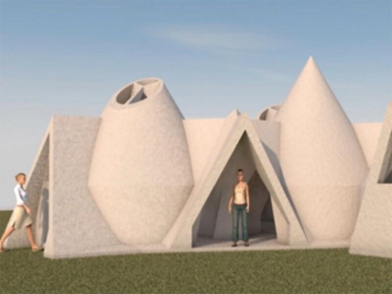 BigDelta(ビッグデルタ)による将来の家の画像undefinedundefined(引用:WASP社HP)