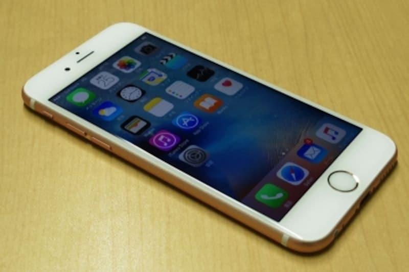 SIMロック解除が可能になったiPhone6s