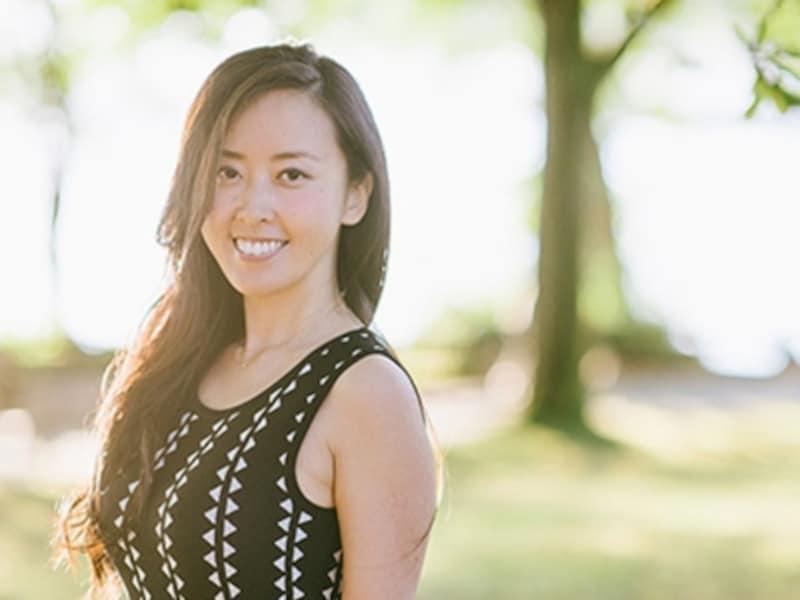 『グローバルに愛される女子養成講座』主宰、バンクーバー在住のハートリー明子さん。