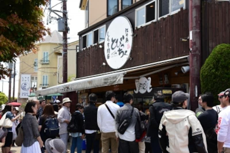 「とびっちょ」は、開店前から行列ができている人気店だ