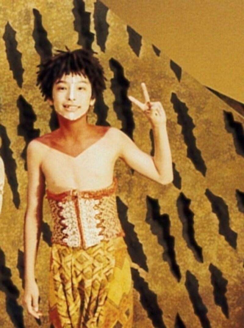 ヤングシンバを演じた折の海宝さん。写真提供:海宝直人
