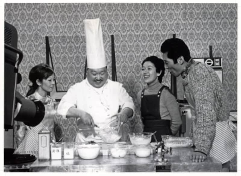 NHK『きょうの料理』に出演する村上氏