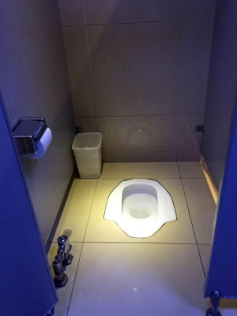 中国のトイレ事情「和式トイレ」