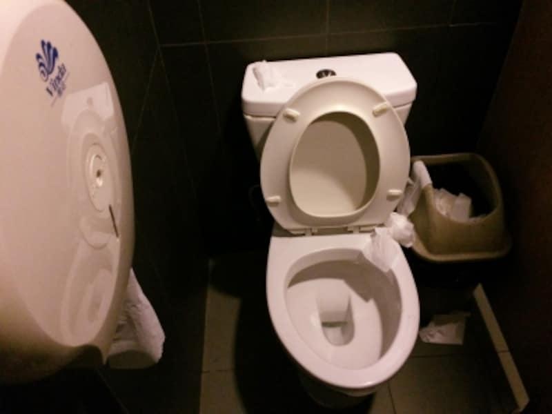 中国のトイレ事情「外資系レストランのトイレ」