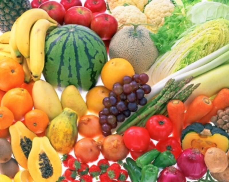 野菜を中心にしたバランスのよい食事は、薬膳の観点でも◎
