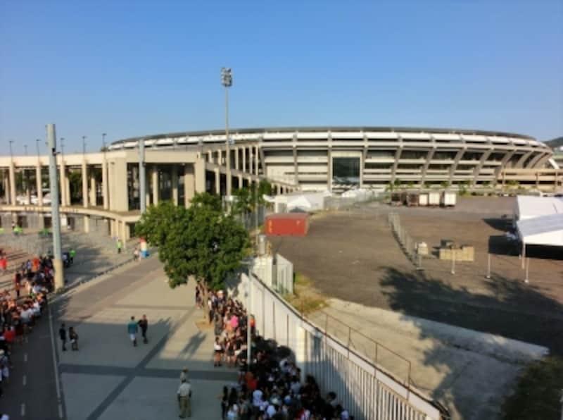 開閉式会場でもあるマラカナン・スタジアム