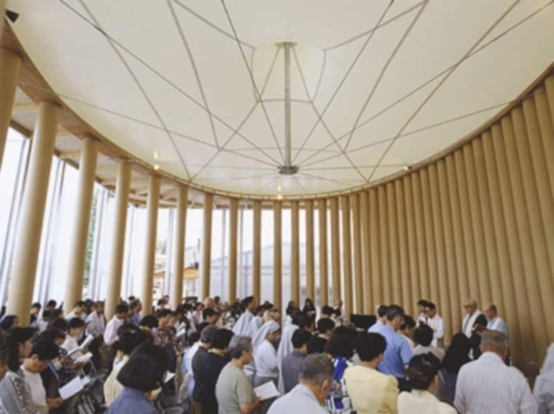 紙の教会undefinedundefined(引用:坂茂建築設計undefinedオフィシャルHP)
