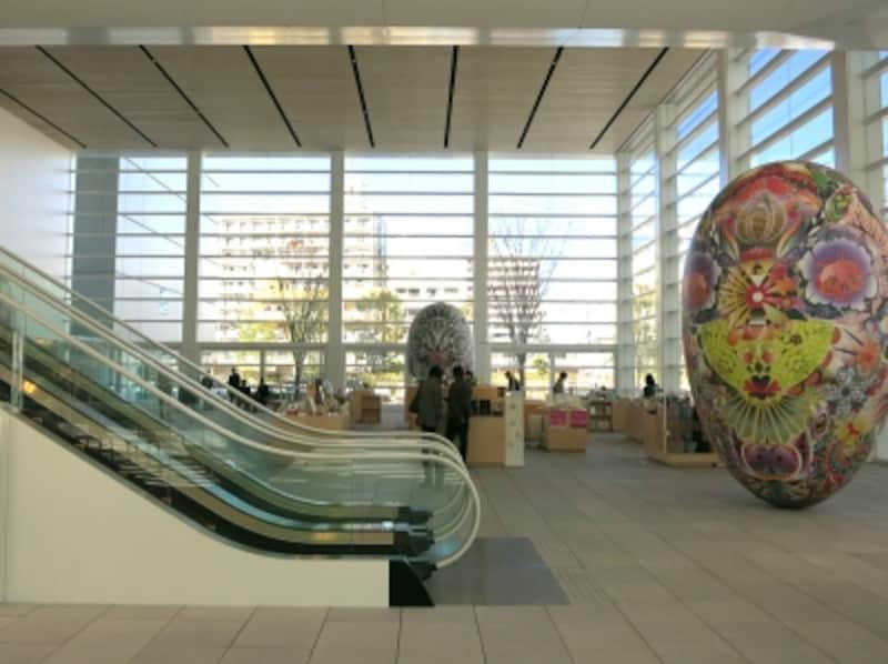 ミュージアムショップのある空間の画像
