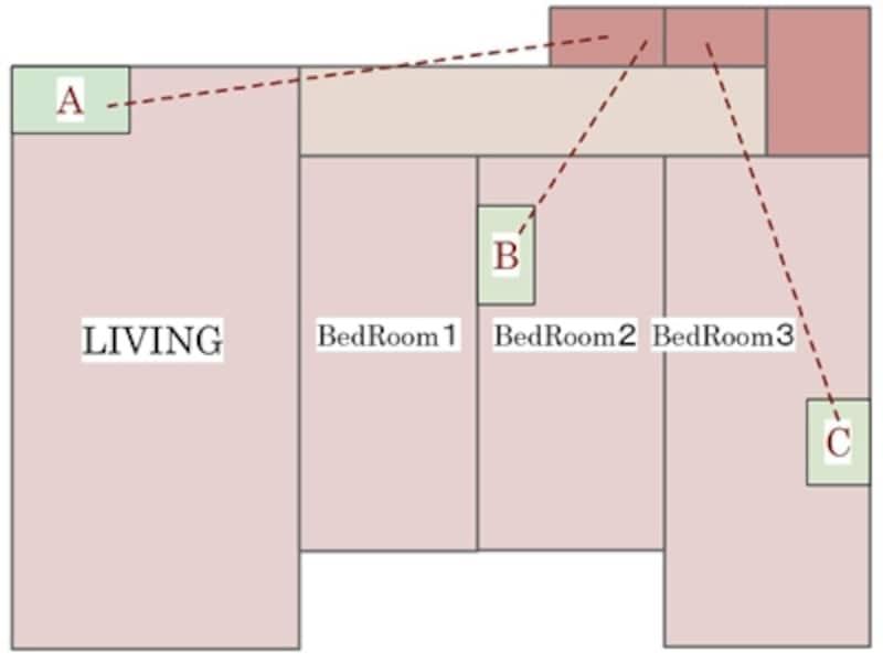 廊下のクローゼット収納